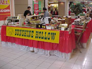 Christmas show and mall booth picture